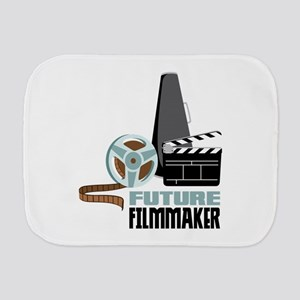Future Filmmaker Burp Cloth